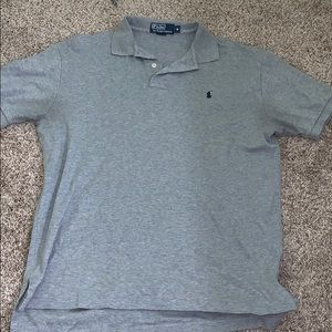 Men's collared polo